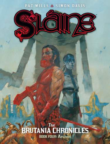 Sláine: The Brutania Chronicles - Book 4