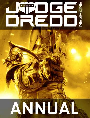 Annual Judge Dredd Megazine Subscription