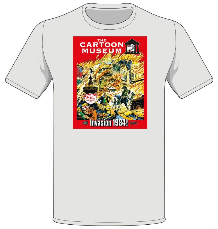 Cartoon Museum fundraiser T-shirt
