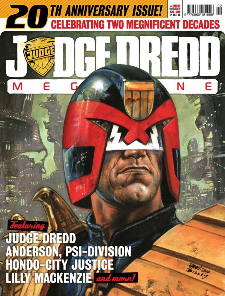 Judge Dredd Megazine 302 [20th Anniversary Issue]