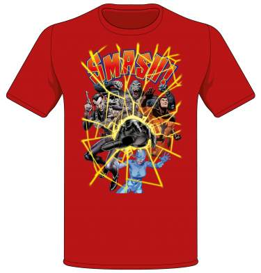 Smash! Special Cover Art T-shirt