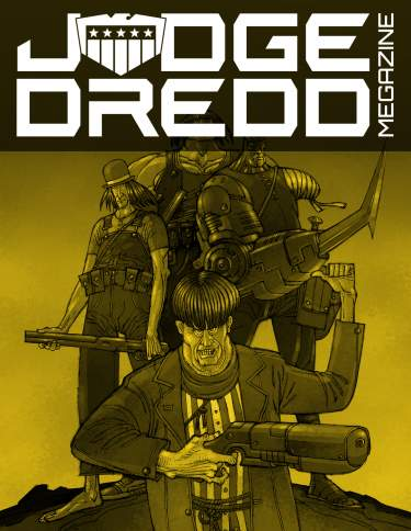 2007 Complete Judge Dredd Megazine Collection