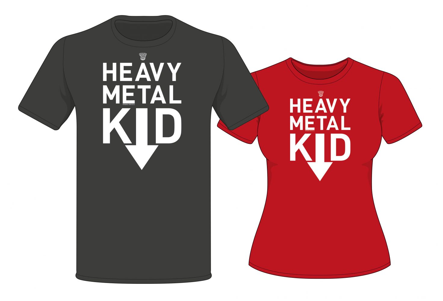 Heavy Metal Kid Logo T-shirt
