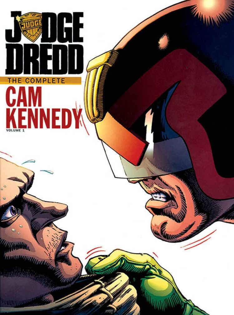 Judge Dredd: The Cam Kennedy Collection Volume 1 [Hardcover]