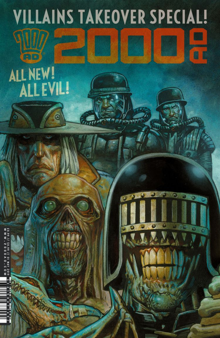 2000 AD Villains Special