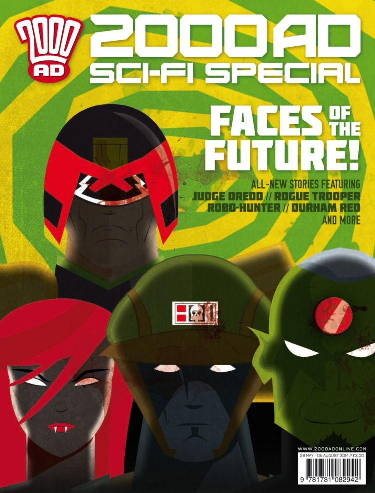 2000 AD Sci-Fi Special 2014