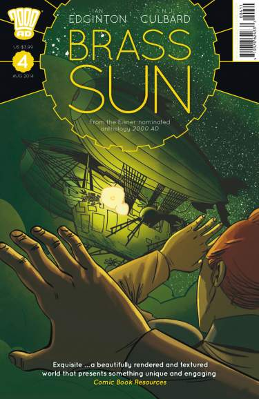 Brass Sun Issue #4