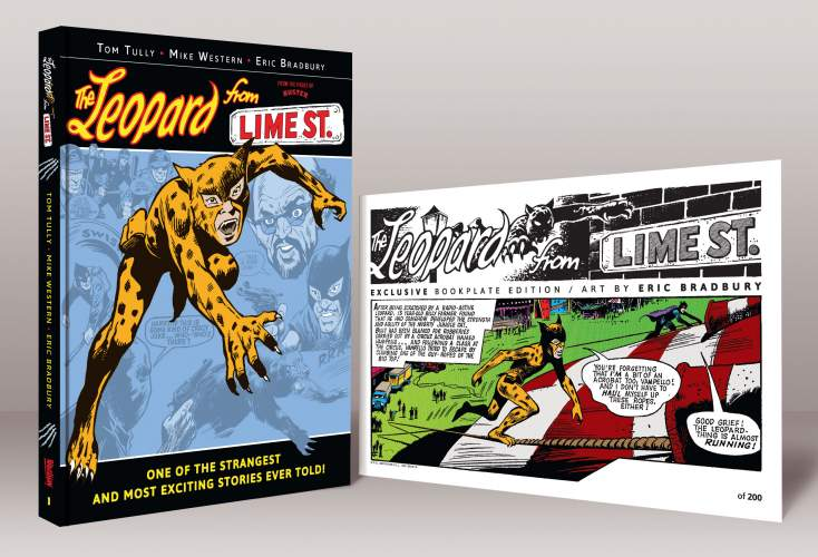 The Leopard from Lime Street - Book 1 [Limited Edition Hardback]
